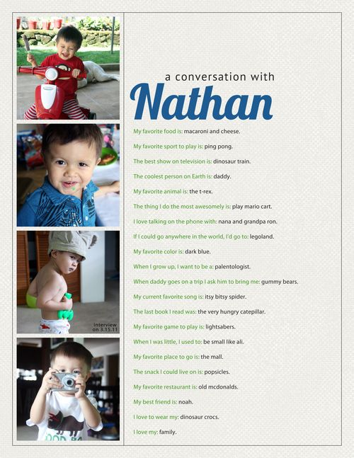 Nathan Interview