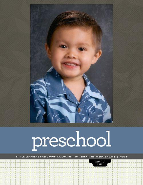 Nathan PreSchool2011